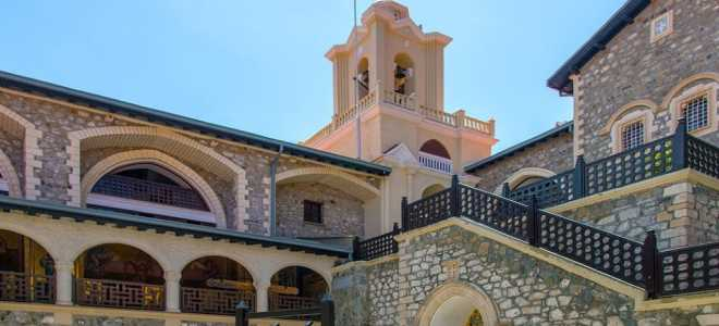 Монастырь Киккос на Кипре – информация для туриста