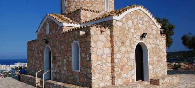 Описание церкви пророка Ильи в Протарасе