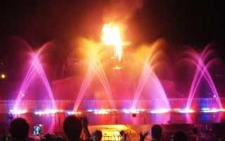 Обзор одного из популярных шоу в Протарасе — танцующие фонтаны