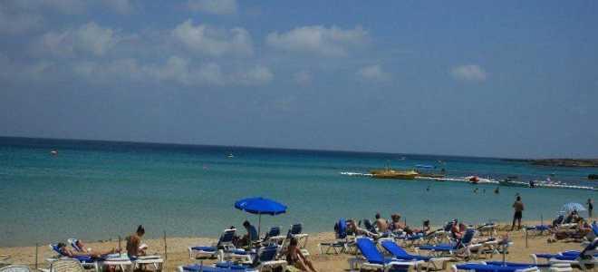Пляж Санрайз в Протарасе