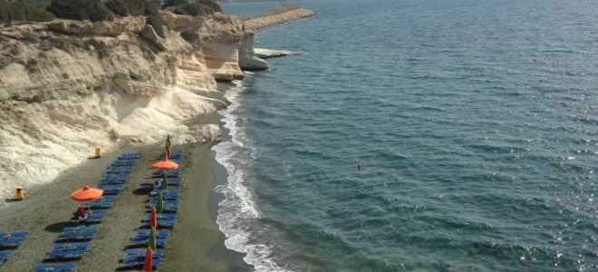 Описание и интересные факты о Губернаторском пляже вблизи Лимассола