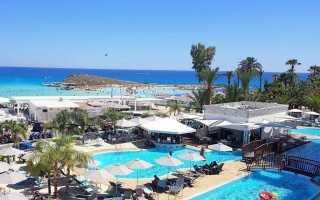 Трехзвездочные отели Кипра первой линии с песчаным пляжем и услугой «Все включено»
