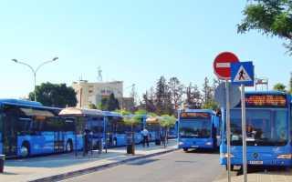 Общественный транспорт в Ларнаке