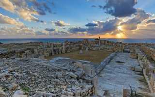 Древнейшие места на Кипре – античный город Курион
