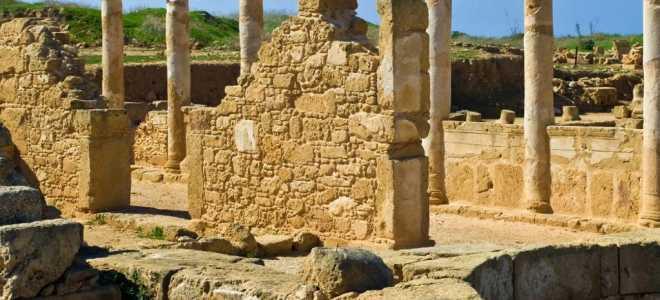 Виртуальная экскурсия по археологическому парку Пафоса