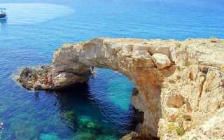 Красивые места на Кипре – Мост влюбленных