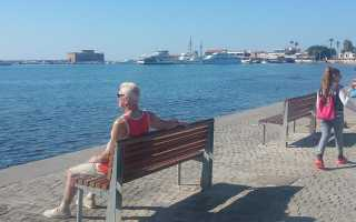 Особенности погоды в Пафосе (Кипр) в ноябре, отзывы туристов