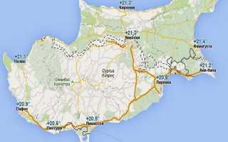 Отдых на Кипре в мае – погода, температура воды и воздуха