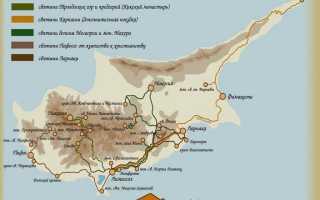 ТОП 5 православных святынь Кипра