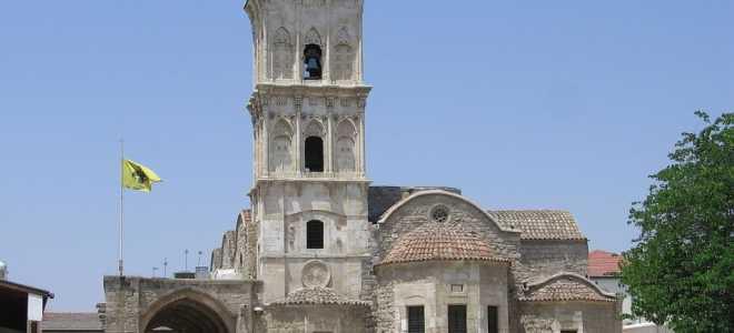 Святыни Кипра – описание церкви святого Лазаря