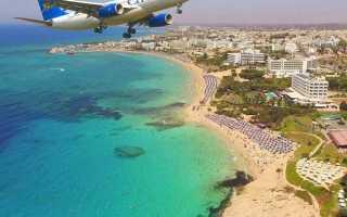 Как добраться из аэропортов Кипра до Айя Напы?
