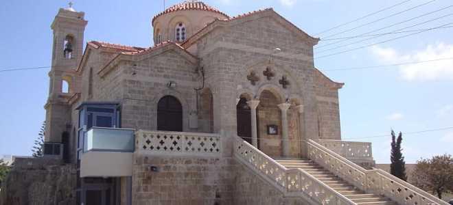 Церковь Панагии Теоскепасти в Пафосе