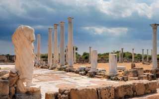 История основания, развития и падения Саламина, состояние города в наши дни