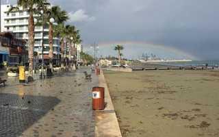 Погодные условия и температурные показатели в Ларнаке (Кипр) в январе
