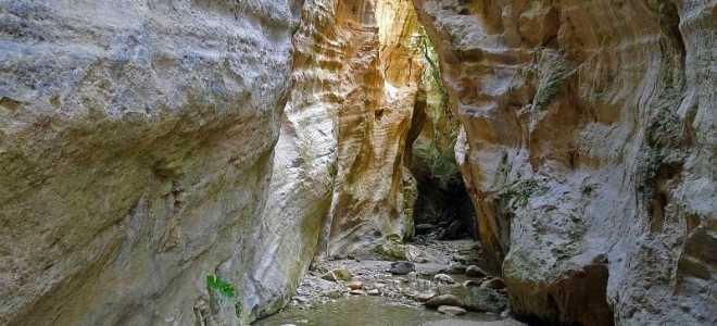 Ущелье Авакас у Пафоса: расположение, описание, как добраться