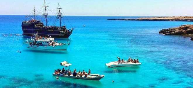 Местонахождение и обзор голубых лагун на Кипре