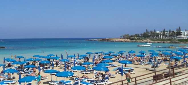 Пляж Фиг три бей (фигового дерева) на Кипре – полное описание