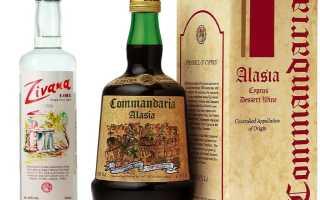Национальные алкогольные и безалкогольные напитки Кипра