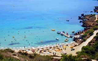 Обзор пляжа Коннос Бэй на Кипре