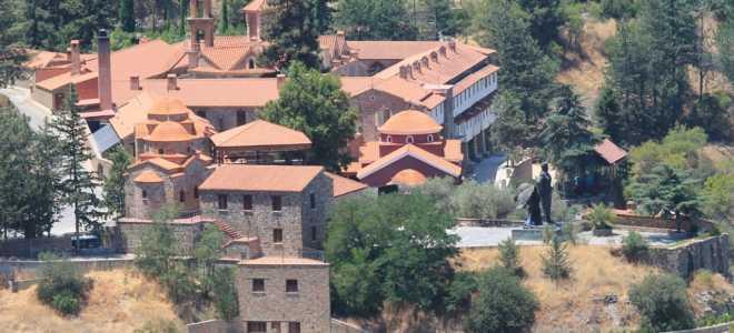 История появления и развития монастыря Махерас (Кипр)