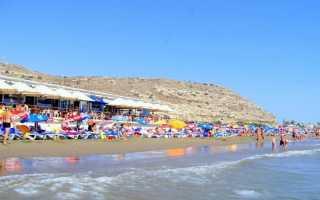 Пляж Курион у Лимассола