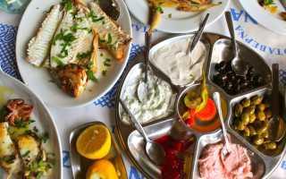 Кипрская кухня и традиции – мезе (рыбное и мясное)