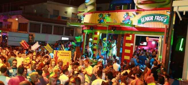 Обзор лучших баров и их расположение на улицах Айя-Напы