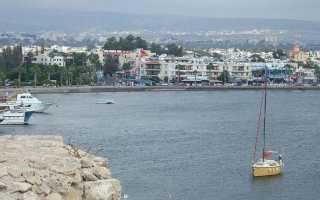 Особенности январской погоды в Пафосе