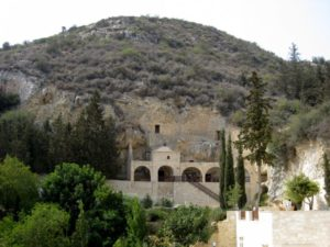 Вид монастыря Святого Неофита