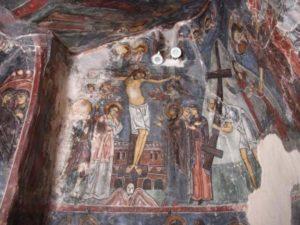 Фреска Оплакивание Иисуса