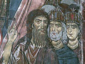 Фреска с изображением Неофита Затворника
