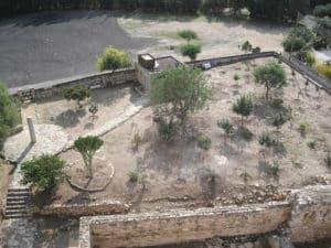 Часть внутренней территории - вид с крыши