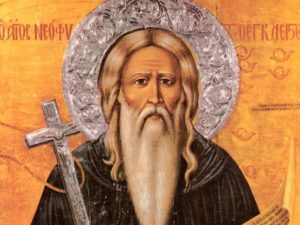 Святой Неофит Затворник