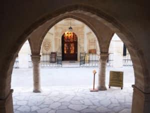 В монастыре хранится одна из главных святынь верующих
