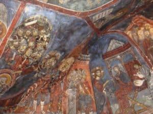 Фрагмент росписи свода