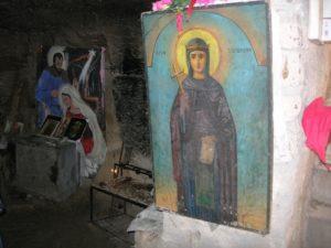 Лик Святой Соломонии в Катакомбах