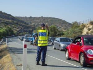 Кипрская дорожная полиция