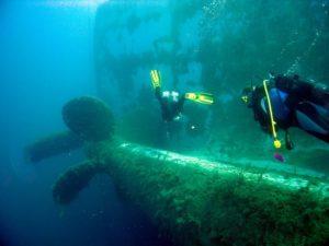 Затонувший паром Зенобия