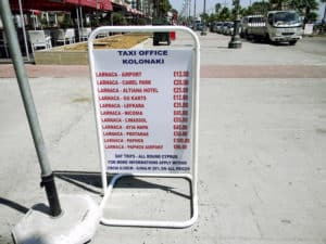 Стоимость проезда на такси
