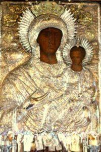Чудотворная икона Богородицы