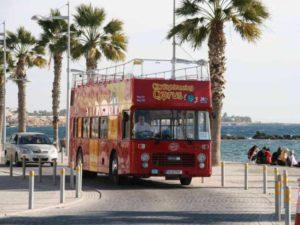 экскурсионный автобус Пафос