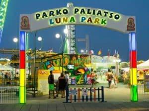 Луна-парк Parko Paliatso