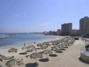 Городской пляж Фамагусты